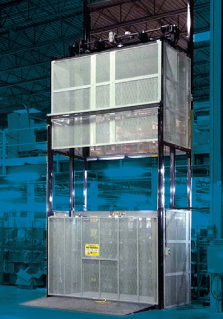 PM Series material lift or VRC from CIP
