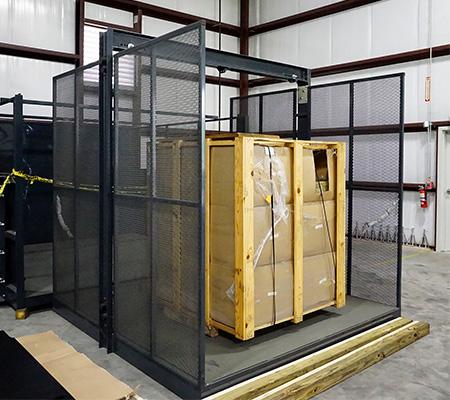 Satisfied CIP Material Lift Customer
