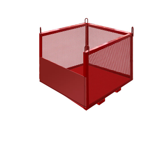 Material Baskets from Custom Industrial Products