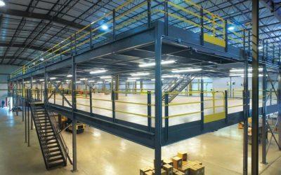 How Fulfillment Centers use Mezzanines